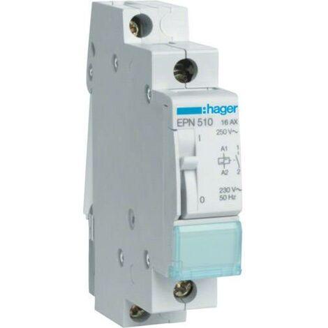 Contr/ôleur de Circuit Universel Domestique 24V 2NO 50//60HZ Montage sur Rail DIN Contacteur /à faible bruit et Contacteur AC 2 P/ôles 25 AMP