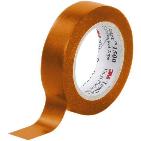 Ruban isolant Temflex 1500 3M FE-5100-8939-7 orange (L x l) 10 m x 15 mm 1 pc(s) S14506