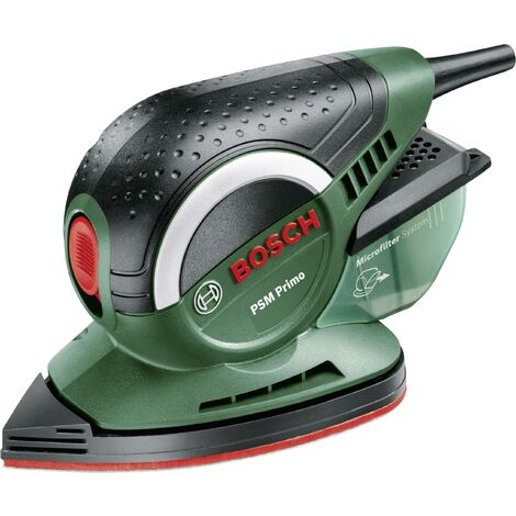 Ponceuse multi 50 W Bosch Home and Garden PSM Primo 06033B8000 95 x 165.9 mm 1 pc(s) Q429641