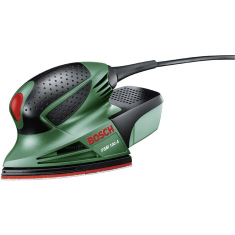 Ponceuse multi 100 W Bosch Home and Garden PSM 100 A 06033B7000 93 x 93 x 93 mm, 102 x 62 mm + mallette 1 pc(s) Q429091