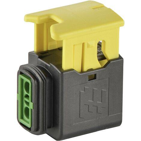 Boîtier femelle pour câble série HDSCS, MCP TE Connectivity HDSCS, MCP 2-1418483-1 Nbr total de pôles 2 1 pc(s) Y993181