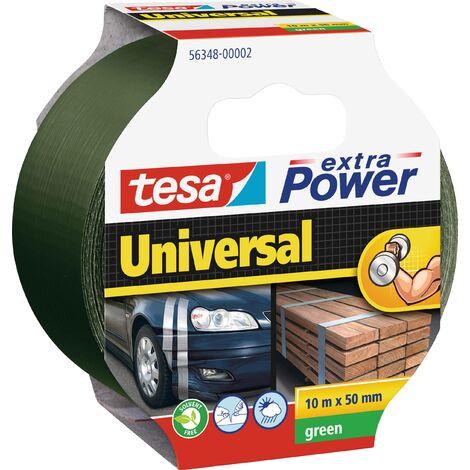 Ruban adhésif toilé tesa® extra Power tesa 56348-02-05 vert (L x l) 10 m x 50 mm caoutchouc 1 pc(s) W680821