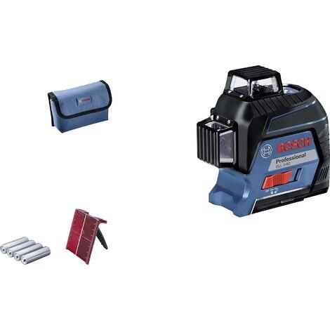 Laser à lignes Bosch Professional GLL 3-80 0601063S00 Portée (max.): 30 m 1 pc(s) C154321