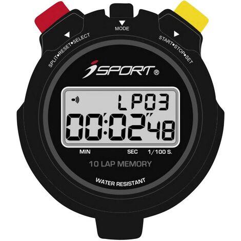 iSport JG021 Pro Chronomètre numérique noir A270561