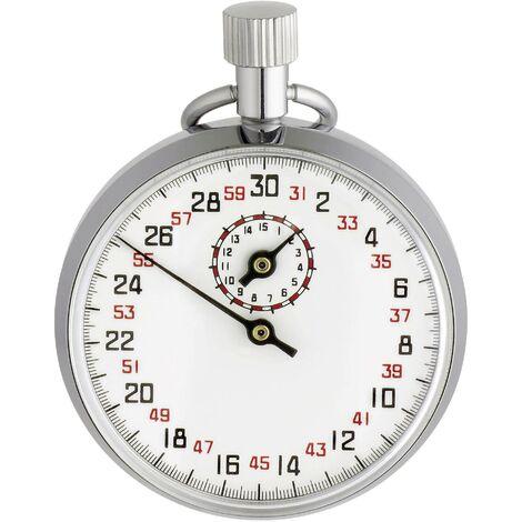 TFA Dostmann 38.1021 Chronomètre analogique argent D30461