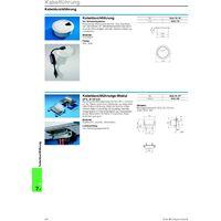 Passe-fils Rittal 6902.770 pour plan de travail plastique gris clair (RAL 7035) 1 pc(s) S55656