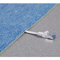 Renkforce RF-4149840 RJ45 Câble réseau, câble patch CAT 6a U/FTP 1.00 m blanc très flexible, avec cliquet d'encastrement, ignifuge 1 pc(s) Y625671