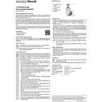 Basetech 1530022 Régulateur de débit d'eau S277551