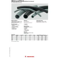 Helukabel 92723 HELUcond PA6-S Gaine annelée noir 6.60 mm 50 m X156411