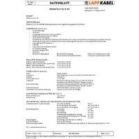 Câble gainé NSGAFÖU LAPP NSGAFÖU 1600308-1 1 x 50 mm² noir Marchandise vendue au mètre X73514