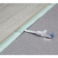 Renkforce RF-4149834 RJ45 Câble réseau, câble patch CAT 6a U/FTP 25.00 cm blanc très flexible, avec cliquet d'encastrement, ignifuge 1 pc(s) Y625461