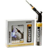 Sievert PowerJet Ultra Set Lampe à souder 2100 °C avec bouteille de gaz X740211