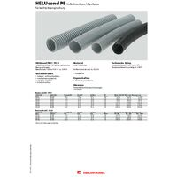 Helukabel 90448 HELUcond PE-F Gaine annelée noir 9.80 mm 50 m X156271