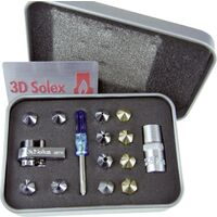 "3D Solex Matchless V3 ""Grand 12"" Kit 3D Solex Matchless Grand 12 7072482000970 Adapté pour: Ultimaker 2, Ultimaker 2 Extended, Ultimaker 2+, Ultimake X812411"