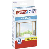 Moustiquaire pour fenêtre tesa 55672-20 (L x l) 1300 mm x 1500 mm blanc 1 pc(s) S27373