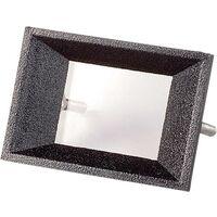 Cadre avant Strapubox AR 2 noir Adapté pour: écran LCD à 2 caractères ABS 1 pc(s) Q16856