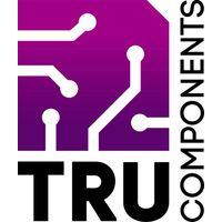 Cadre avant TRU COMPONENTS TC-AR 3 SW203 1588500 noir Adapté pour: écran LCD à 3 caractères plastique 1 pc(s) S663771