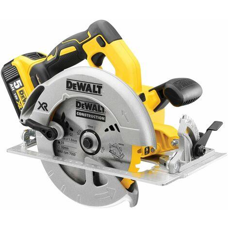 DeWalt DCS570P2 XR Brushless Circular Saw 184mm 18V 2 x 5.0Ah Li-ion