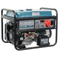 Könner & Söhnen Groupe électrogène 8000W Essence 230V/400V KS10000E-3 - Bleu