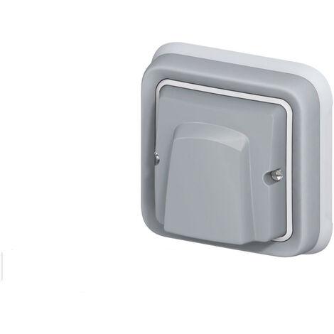 Sortie de câble Legrand Plexo™ grise encastrée