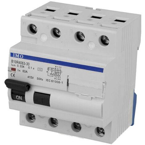 Interrupteur Différentiel 40A / 30mA / type AC / Tétrapolaire IMO