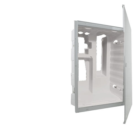Bac d'encastrement 4 rangées + porte, norme accessibilité