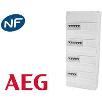 Tableau électrique precable AEG (16 disjoncteurs + 4 ID)