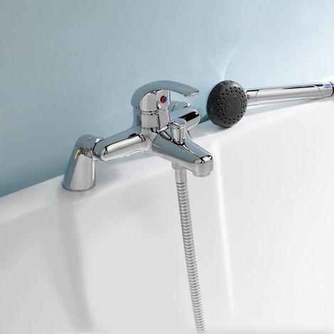 Studio Bath Shower Mixer Tap With Handset