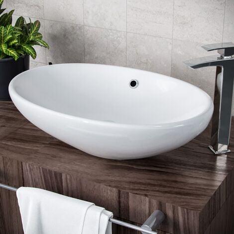 Morar Oval 600 mm Large Counter Top Basin