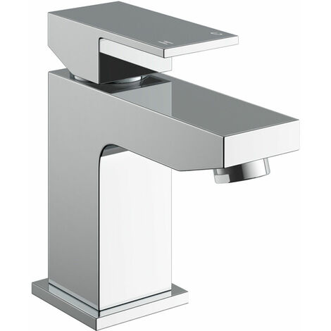Leon Bathroom Basin Mixer Tap & Waste Chrome