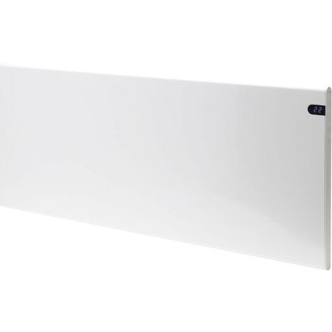 ADAX NEO Stylish, Modern Electric Wall Heater / Convector Radiator with Timer, Flat Panel, 400w, White