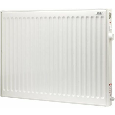 Huber Energy Efficient Oil Filled Electric Radiator, Wall Mounted Lot 20 Compliant Heater, 500W