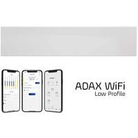 ADAX NEO WIFI Modern Electric Skirting Heater, Home Automation Heating, IPX4, LOT 20, 600w, White