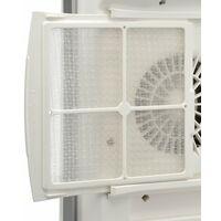 Radialight Windy Electric Bathroom Fan Heater, Infrared Convector, White, 1000W / 1800W