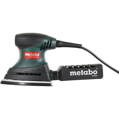 Metabo FMS 200 Intec - Ponceuse triangulaire dans mallette - 200W - 150x100mm