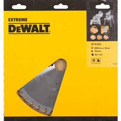 DeWalt DT4322 Lame pour scie stationnaire - 250mm