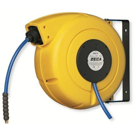 """Zeca ZELU805/8 Enrouleur de câble à aire HP avec Tuyau KPU - 15bar - in - / out 1/4"""""""