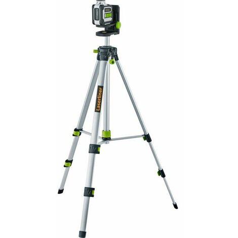 Laserliner CompactLine-Laser G360 - Niveau laser incl. trépied et sac - 1 ligne - 30m - Vert - Bluetooth