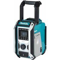Makita DMR114 - Radio de chantier Li-Ion 10,8 à 18 V (produit seul) - Bluetooth - sur secteur et batterie