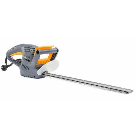 Taille-haie électrique 1500 W lame 45 cm en acier avec protège lame