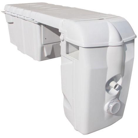 Groupe filtrant MX18 Modulable avec Nage contre courant et Electrolyseur au sel