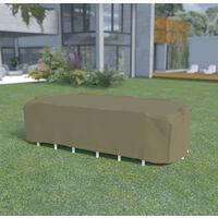 Funda mesa rectangular + 8 sillas de 3,25x2,05 x h.0,90m Nortene