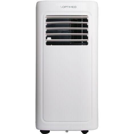 Climatiseur mobile 2000W (7000BTU)  pour les pièces de 15 à 20m² OPC-A01-070 OPTIMEO (Marque française)