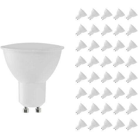 Pack 40 Bombillas LED GU10 Spotlight 8W Equi.60W 700lm Raydan Home Temperatura - 3000K