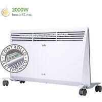 Radiador eléctrico con ruedas cm 80x41,3x11,1 Ballu HeatMax2000