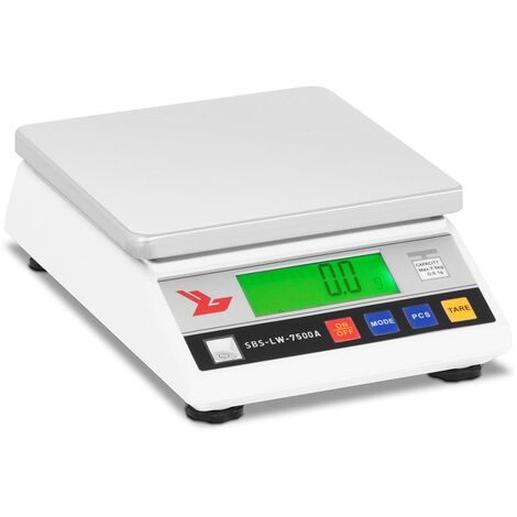 Steinberg Balance Laboratoire Pharmacie Digitale Plateau Lcd Inox 7 5Kg/0 1G