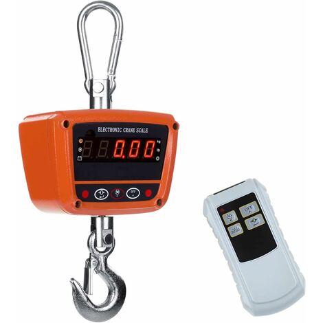 Balance à Grue Imperméable Balance Suspendue Lcd 300 Kilo Dynamomètre F Led