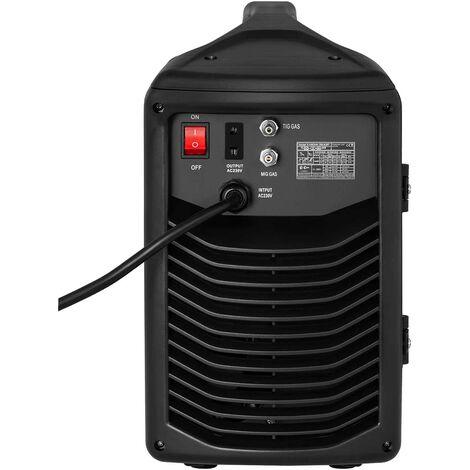 Stamos Germany Poste /À Souder MIG//MAG FCAW sans gaz S-MAG 120 FL 40-120 A, D/évidoir Et C/âbles Int/égr/és, Fil Fourr/é Flux 0,8-0,9 mm
