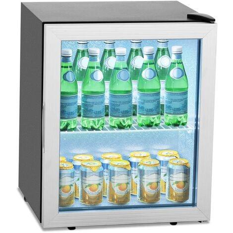 Frigo Boisson à Boissons Bouteille Bouteilles Réfrigérateur Vitré 54L 64W 0-10 °C