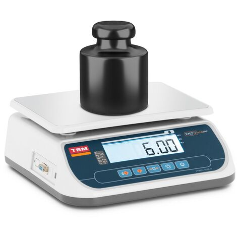 Balance De Table Cuisine Pèse-Aliment Électronique Digitale TEM 6 kg ±2 g